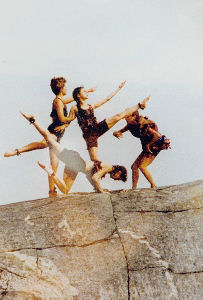 "1997 performance of ""Shamanka's Mountain Jig"""