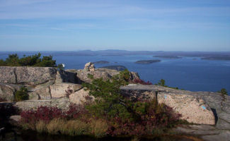 Top of Champlain Mountain (Acadia National Park)